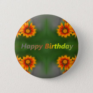 happy birthday card button