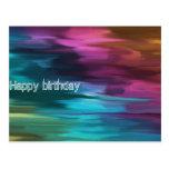 Happy birthday card by Barra 404 001 Postcard