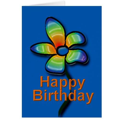 Happy Birthday card Cartoes