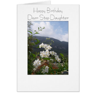 Happy Birthday Card For A Step Daughter Jasmine