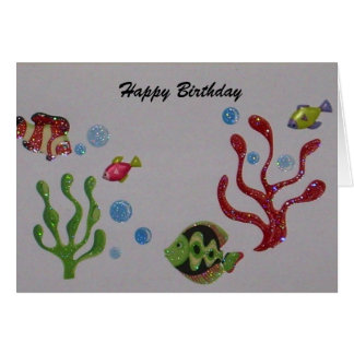 Happy Birthday card for the Fisherman