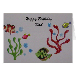 Happy Birthday card for the Fisherman Dad