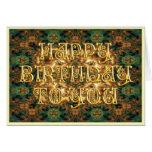 Happy Birthday Card (Greenie 5)