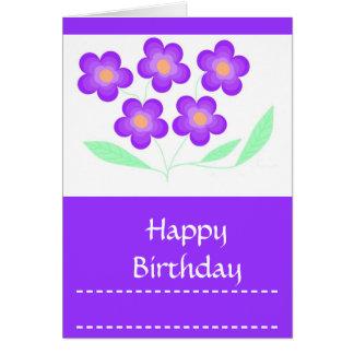 Happy Birthday Card her, general, customizable