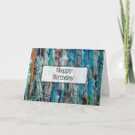 """Happy Birthday Card Nautical Ropes Themed<br><div class=""""desc"""">Happy Birthday Card Nautical Themed with boat ropes. Great for a husband,  boyfriend,  brother,  uncles or any male&#39;s birthday.</div>"""