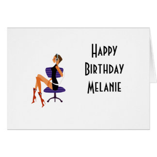 birthday cards for office