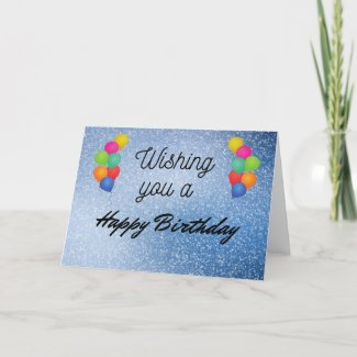 Birthday Card Style 1 - Front