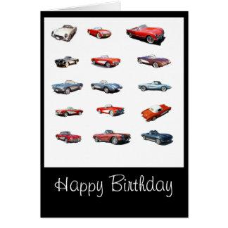 Happy Birthday Car Greeting Cards Zazzle