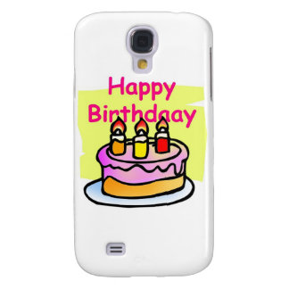 happy birthday galaxy s4 cover