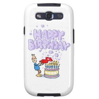 Happy Birthday Galaxy SIII Cases