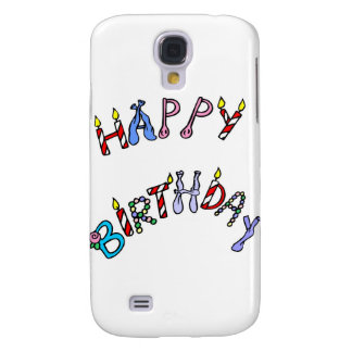 happy birthday galaxy s4 cases