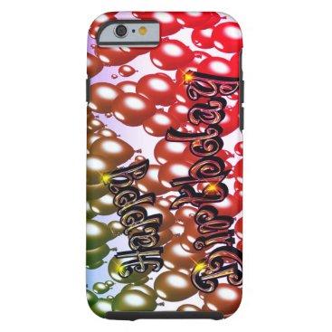 happy birthday tough iPhone 6 case
