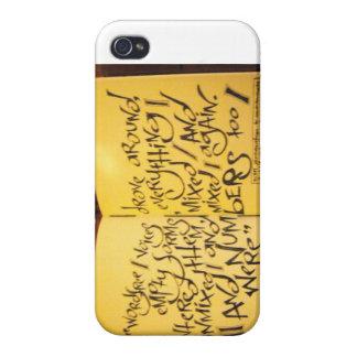 """""""Happy Birthday, Celan"""" iPhone 4 Cover"""