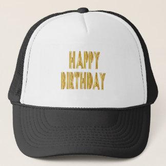happy birthday celebration party occasion festive trucker hat