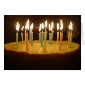 Happy Birthday Cheesecake Card