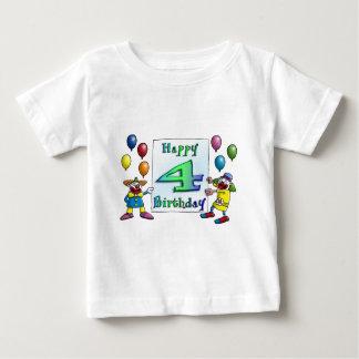 happy birthday children - clowns infant t-shirt