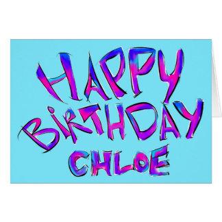 Happy Birthday Chloe Gifts on Zazzle