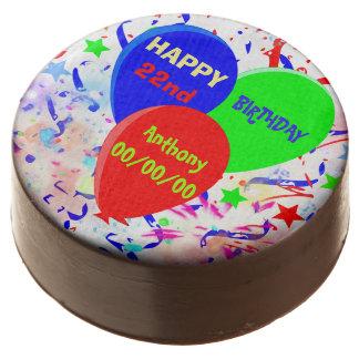 happy birthday chocolate covered oreo