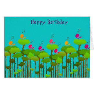 Happy Birthday Chorus Card