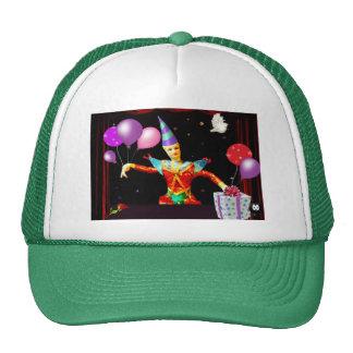 happy birthday clown1 hat