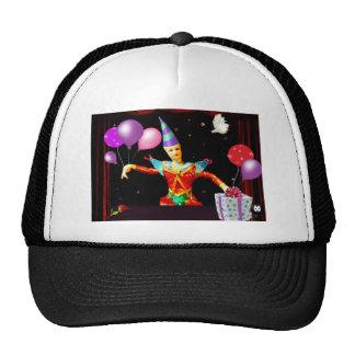 happy birthday clown1 trucker hat