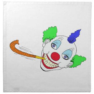 Happy Birthday Clown Napkin