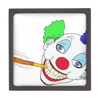 Happy Birthday Clown Premium Trinket Box