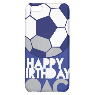 Happy Birthday COACH with soccer ball Cover For iPhone 5C