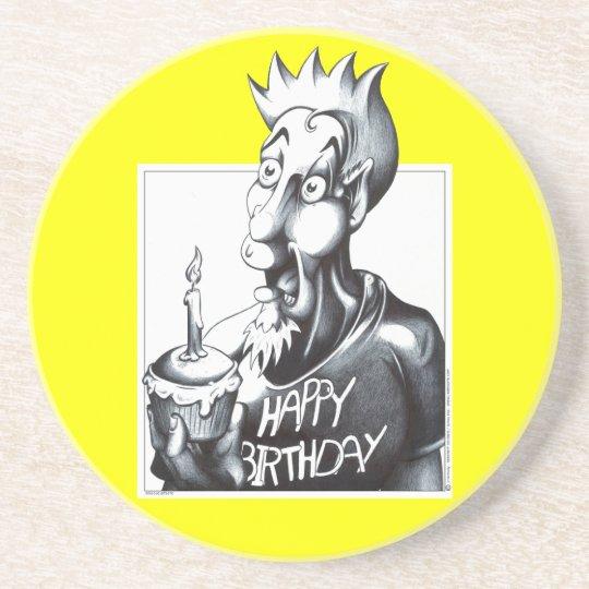 Happy Birthday Coaster