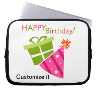 Happy Birthday Computer Sleeve