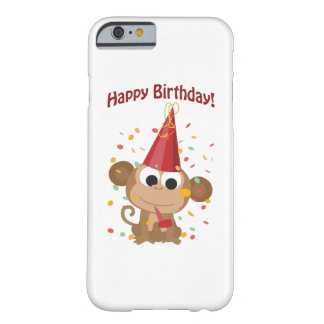 Happy Birthday! Confetti Monkey Barely There iPhone 6 Case
