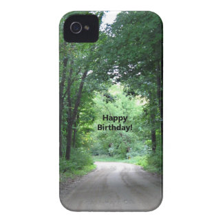 Happy BIrthday Country Road iPhone 4 Case