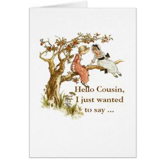 Happy Birthday, Cousin Card