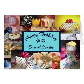 Happy Birthday Cousin Card