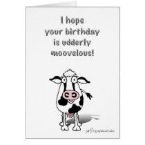 Happy Birthday Cow! Card