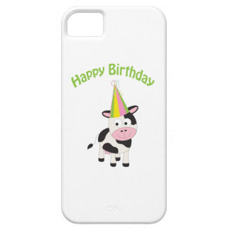 Happy birthday cow iPhone SE/5/5s case
