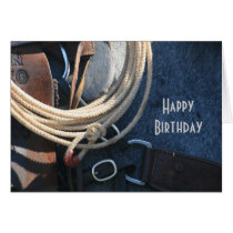 Happy Birthday Cowboy / Cowgirl CUSTOM Card
