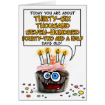Happy Birthday Cupcake - 100 years old Greeting Card