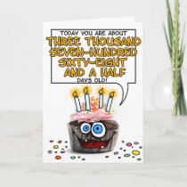 Happy Birthday Cupcake - 10 years old cards by cfkaatje