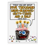 Happy Birthday Cupcake - 16 years old Greeting Cards