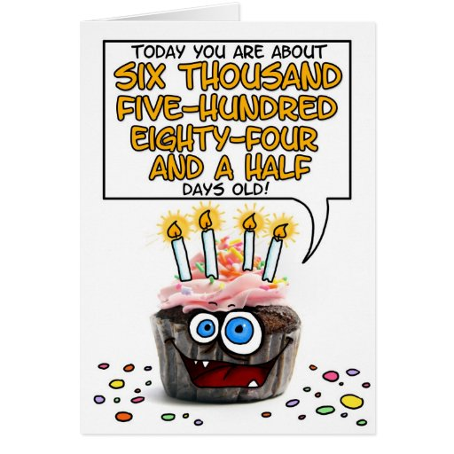 Happy Birthday Cupcake - 18 years old Cards