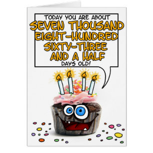 21 years old happy birthday cards greeting photo cards zazzle happy birthday cupcake 21 years old card bookmarktalkfo Choice Image