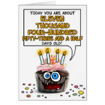 Happy Birthday Cupcake - 31 years old Cards