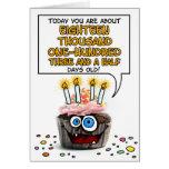 Happy Birthday Cupcake - 49 years old Greeting Card