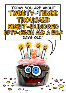 65 Year Old Birthday Cards