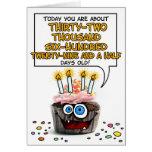 Happy Birthday Cupcake - 89 years old Greeting Card