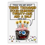 Happy Birthday Cupcake - 9 years old Card
