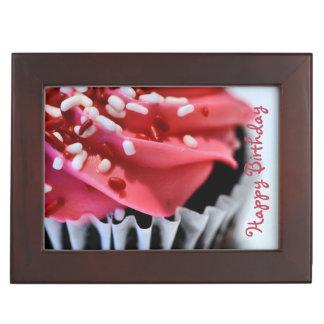 Happy Birthday Cupcake Memory Box