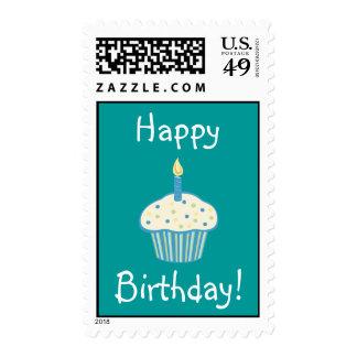 Happy Birthday! Cupcake Stamp