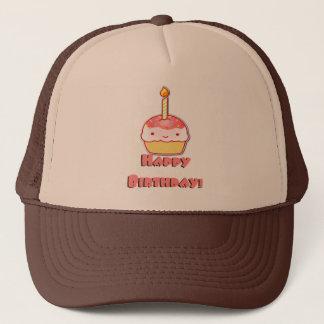 Happy Birthday Cupcake Trucker Hat